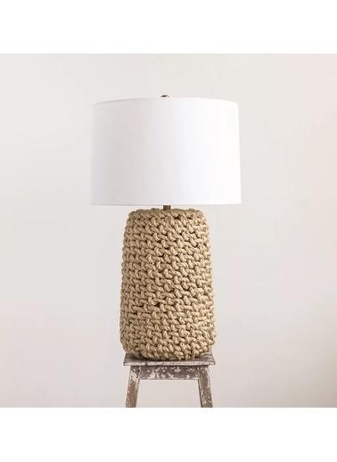Warm Design Halat Masa Lambası Kahve